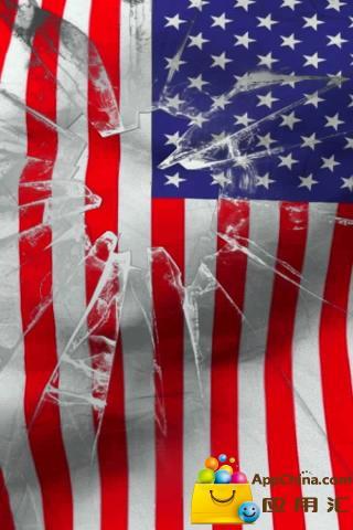 美国国旗活墙纸免费