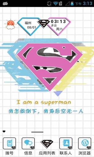 superman-壁紙主題桌面美化