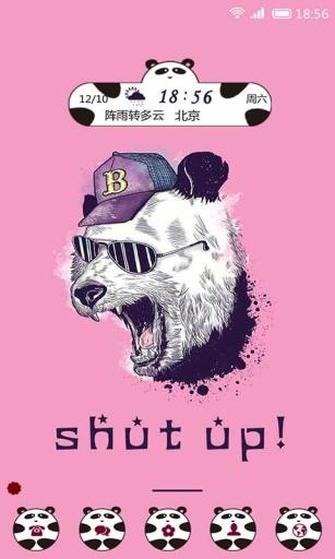 暴走熊猫-91桌面主题壁纸美化