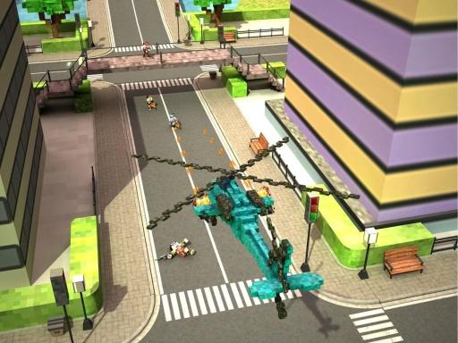 方块直升机:突击任务截图2