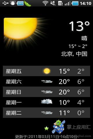 Win7天氣預報