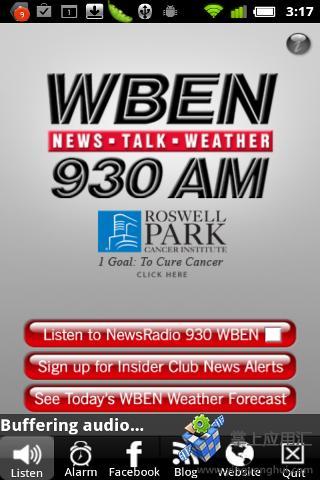 WBEN新闻广播截图0