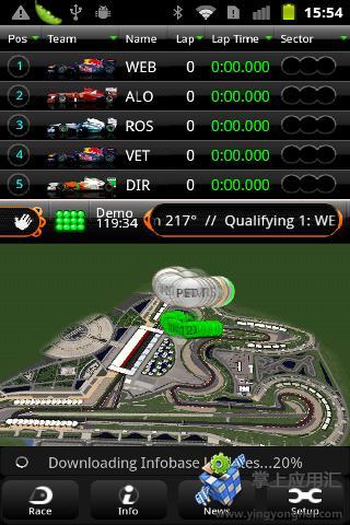 F1实时赛场跟踪2011
