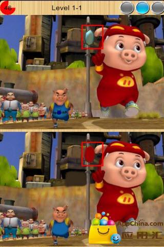 快来找茬吧猪猪侠