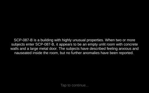 SCP-087-B截图2