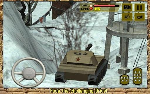 军事坦克战攻击卡