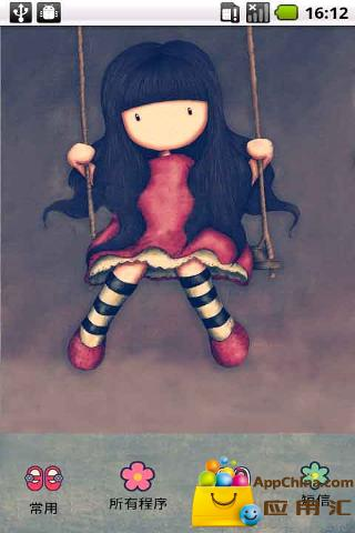 YOO主题-木偶女孩