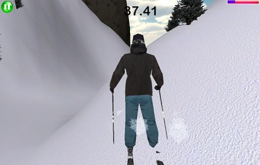 滑雪模拟器截图1