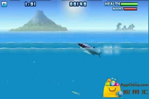 贪吃的鲨鱼截图2
