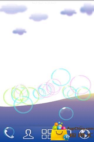 多彩气泡动态壁纸