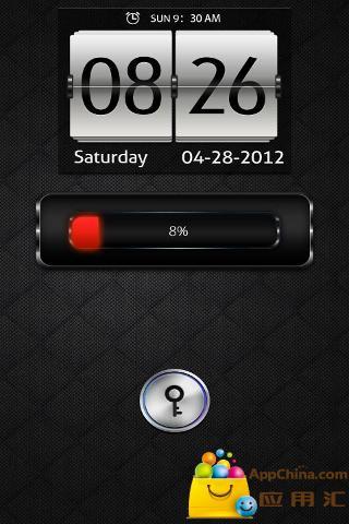 GO锁屏DeepBlue深蓝|玩工具App免費|玩APPs