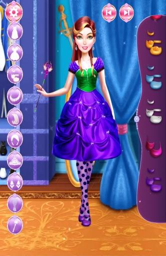 公主 化妆 服装 温泉 游戏的女孩截图0