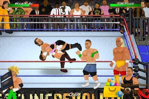 搞笑美式摔跤 Wrestling Revolution截圖1