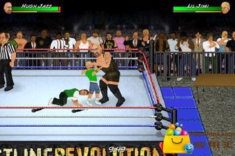 玩免費動作APP|下載搞笑美式摔跤 Wrestling Revolution app不用錢|硬是要APP