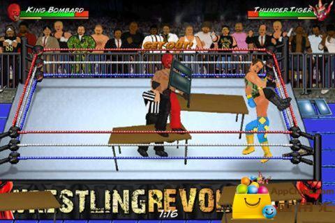 搞笑美式摔跤 Wrestling Revolution|玩動作App免費|玩APPs