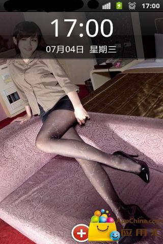 iphone腿模sara