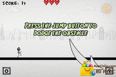 【免費益智App】涂鸦先生奔跑-APP點子