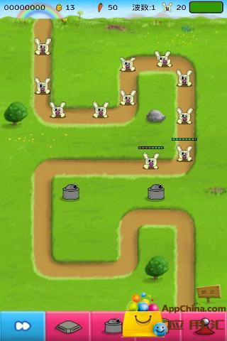 兔子塔防截图3