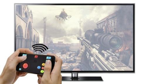 三星智能电视Gameloft游戏手柄截图1