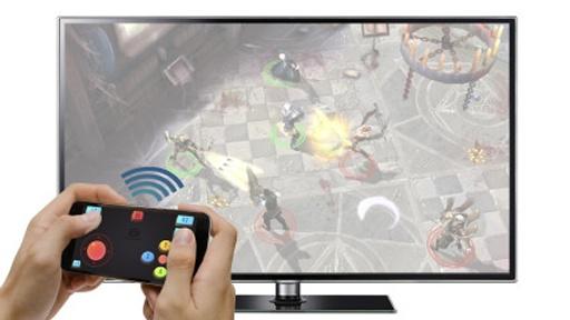 三星智能电视Gameloft游戏手柄截图2