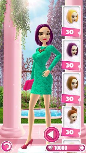 换装小游戏 – 发型, 化妆截图5