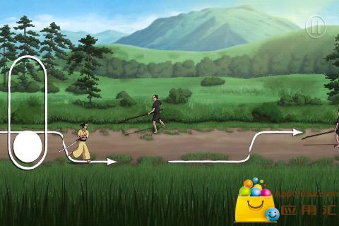 跑跑武士截图3