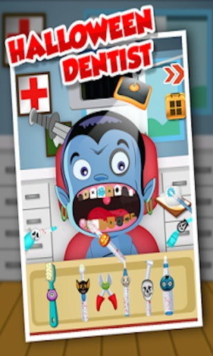 万圣节牙医 - 儿童游戏