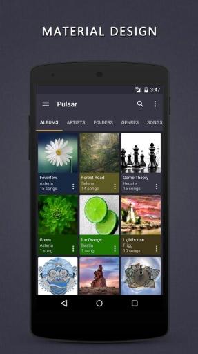 脉冲星音乐播放器:Pulsar
