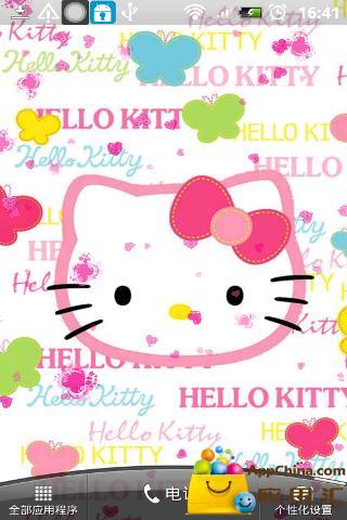 HelloKitty動態壁紙