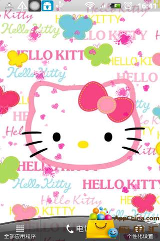 HelloKitty动态壁纸截图1