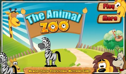 动物动物园 - 儿童游戏截图0