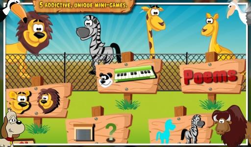 动物动物园 - 儿童游戏截图1