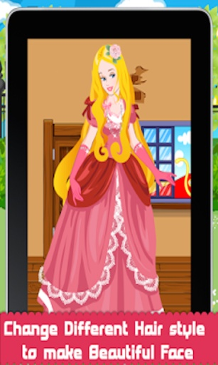 迷人的公主换装截图1