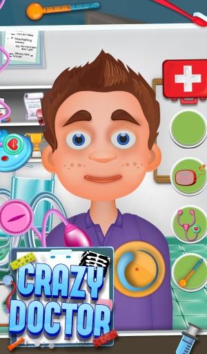 疯狂的医生 - 免费儿童游戏截图0