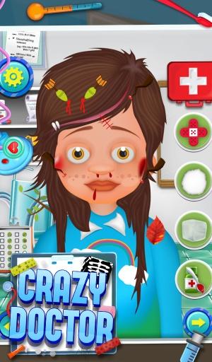 疯狂的医生 - 免费儿童游戏截图1