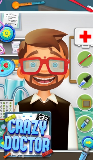 疯狂的医生 - 免费儿童游戏截图3