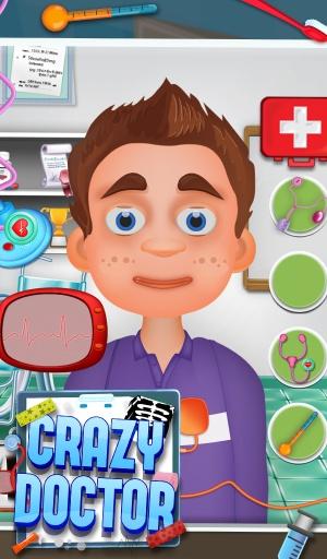 疯狂的医生 - 免费儿童游戏截图4