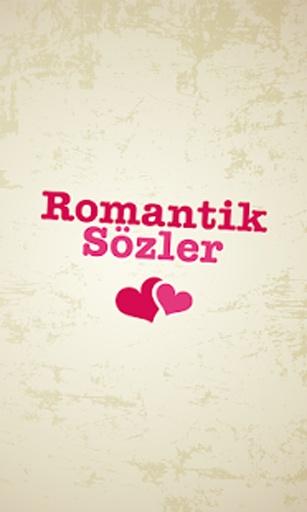 Romantik Sözler截图0