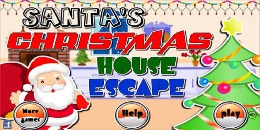圣诞老人圣诞屋逃生
