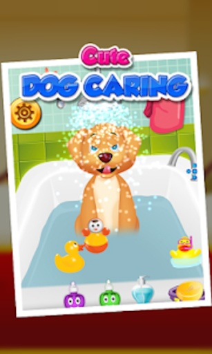可爱的小狗关怀 - 儿童游戏