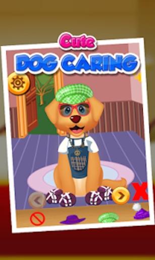 可爱的小狗关怀 - 儿童游戏截图1