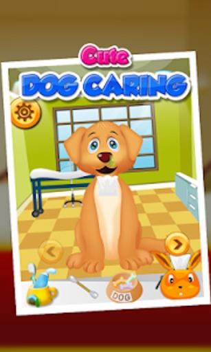 可爱的小狗关怀 - 儿童游戏截图2