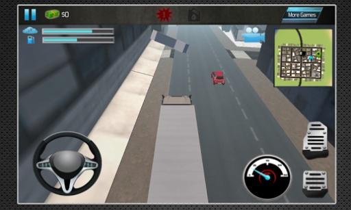 卡车模拟器3D2014年截图1