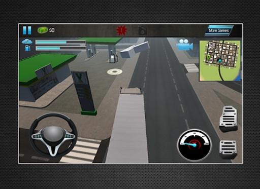卡车模拟器3D2014年截图2