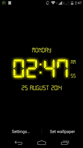 LED Digital Clock LiveWP截图1