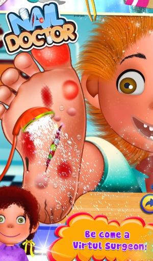 指甲医生2 - 儿童游戏截图0