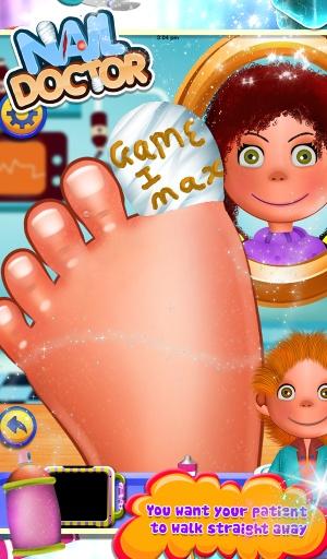 指甲医生2 - 儿童游戏截图4