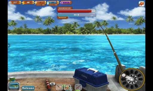 钓鱼天堂3D截图2