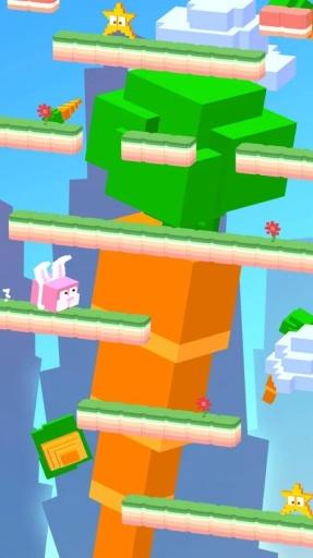 萌兔跳跃截图1