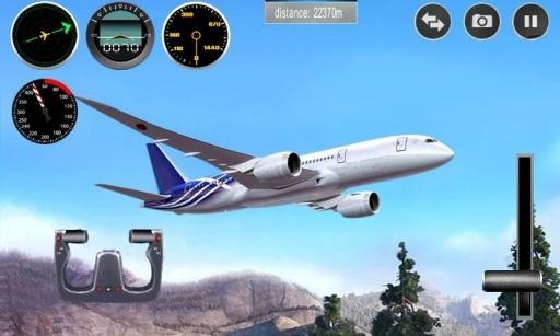 飞机模拟截图0